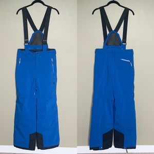 Spyder blue kids snow pants size 16